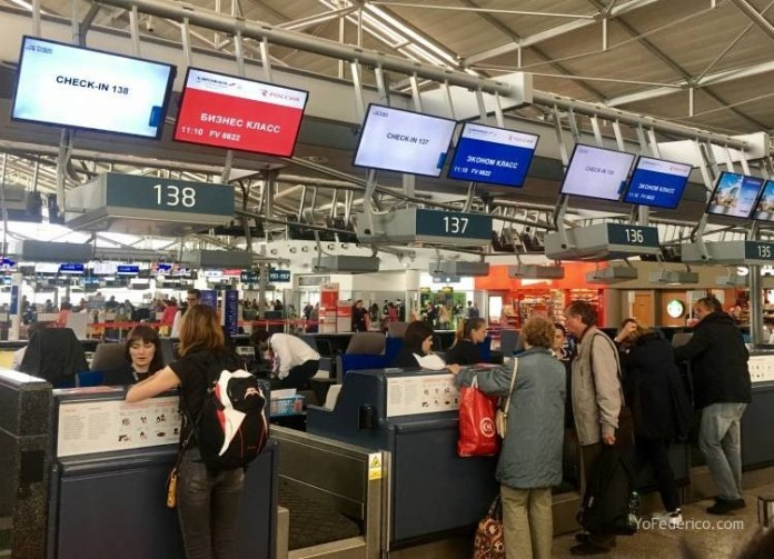Vuelo de Praga a San Petersburgo en AeroFlot 4