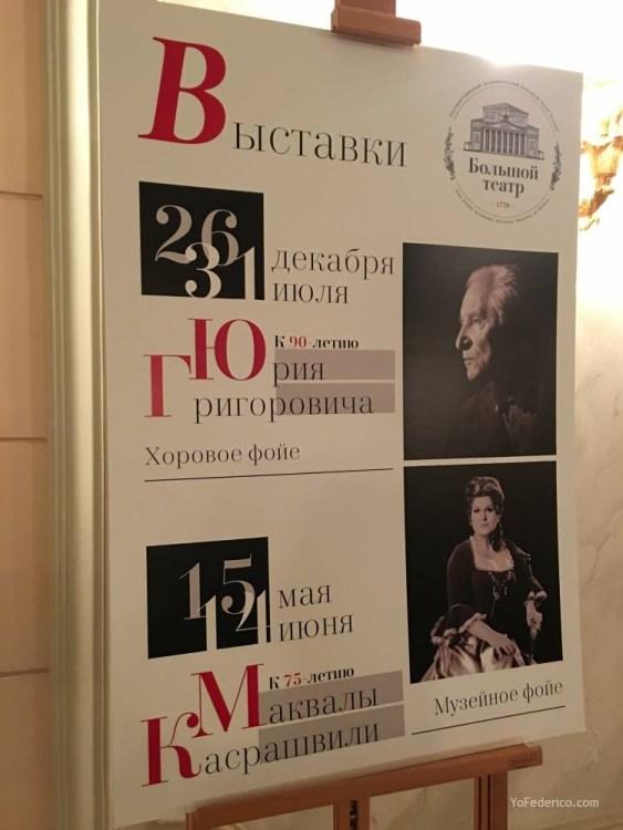 El teatro Bolshoi de Moscú 6