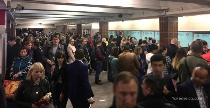 Metro desde la estación de Moscú al centro 2