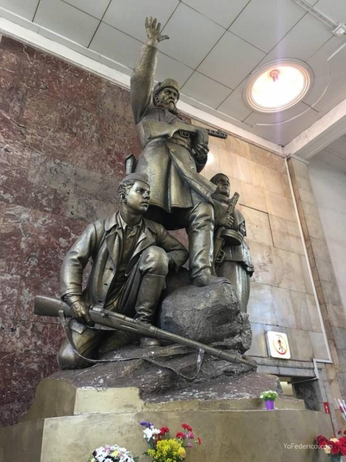 Metro desde la estación de Moscú al centro 15