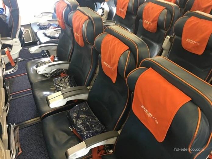 Vuelo Moscú - Londres en Aeroflot 1