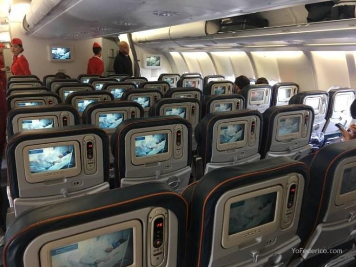 Vuelo Moscú - Londres en Aeroflot 2