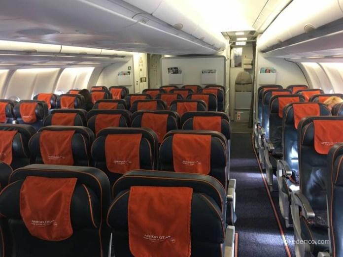 Vuelo Moscú - Londres en Aeroflot 3
