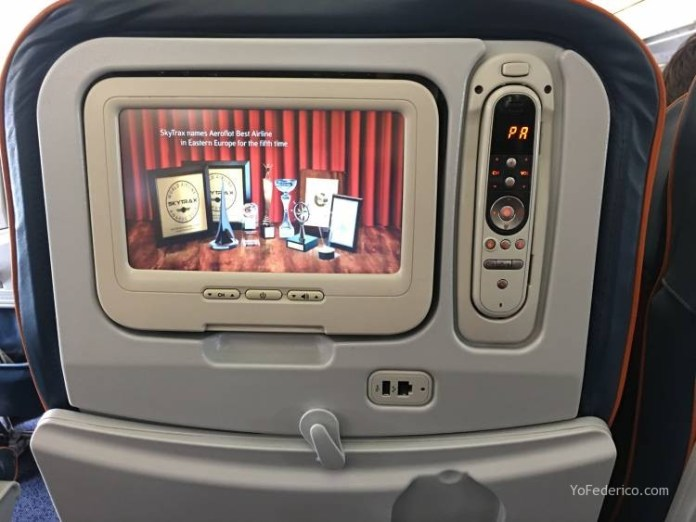 Vuelo Moscú - Londres en Aeroflot 5