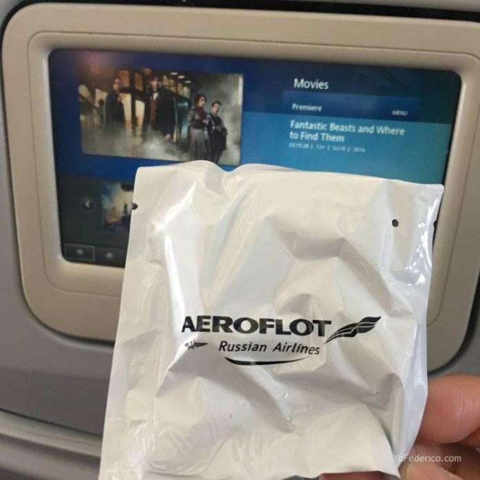 Vuelo Moscú - Londres en Aeroflot 10