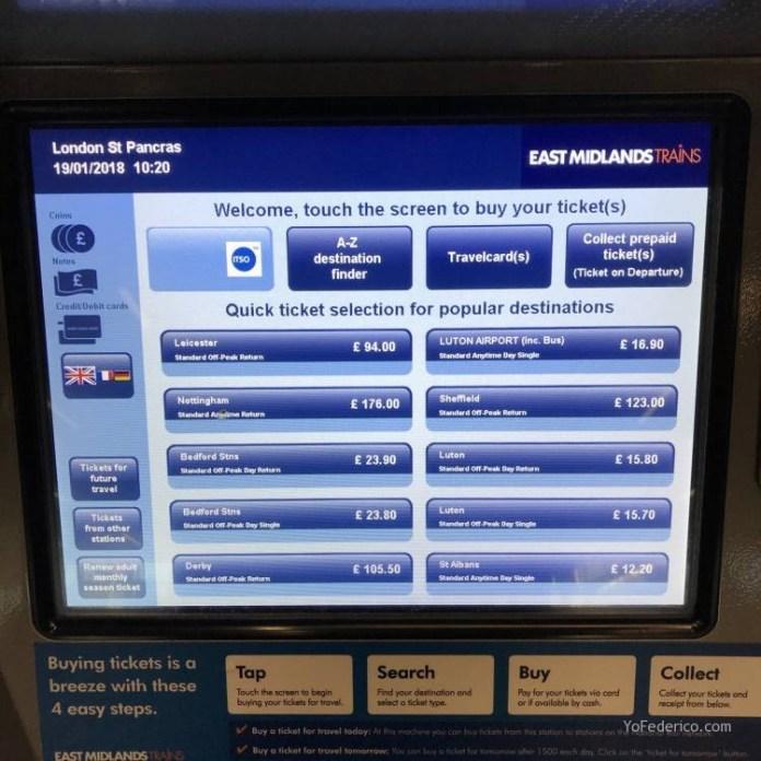 Cómo viajar en tren directo desde Londres a Edimburgo 2