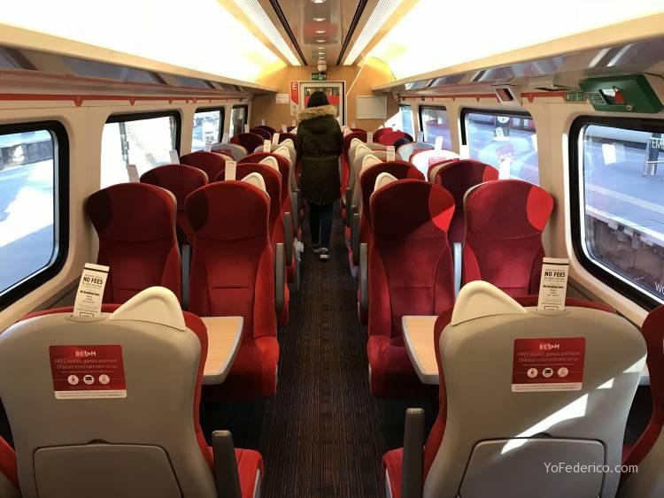 Cómo viajar en tren directo desde Londres a Edimburgo