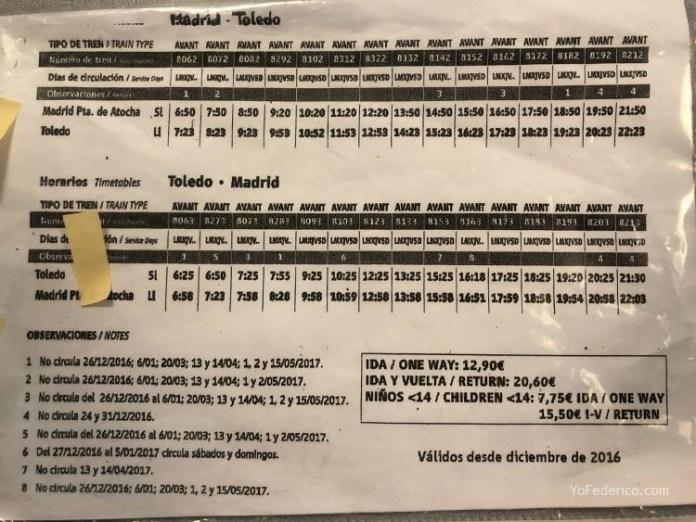 Viajamos en tren de Madrid a Toledo 12