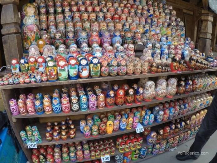 Todas las mamushkas del mercado Izmailovo de Moscú 14