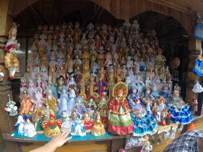 Todas las mamushkas del mercado Izmailovo de Moscú 15