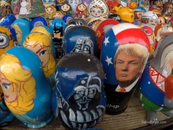 Todas las mamushkas del mercado Izmailovo de Moscú 16