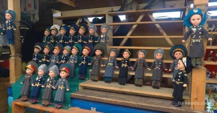 Todas las mamushkas del mercado Izmailovo de Moscú 18