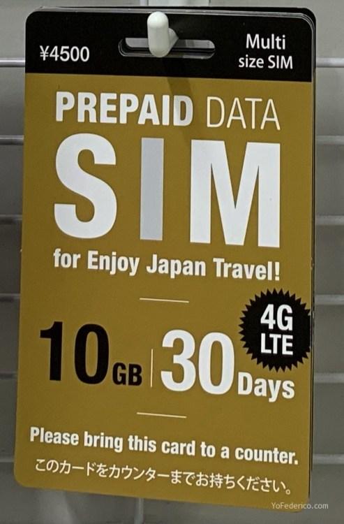 El mejor SIM de datos para comprar en Japón 1