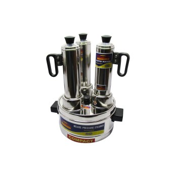 Kairali Stainless Steel Puttukudam 3 in 1
