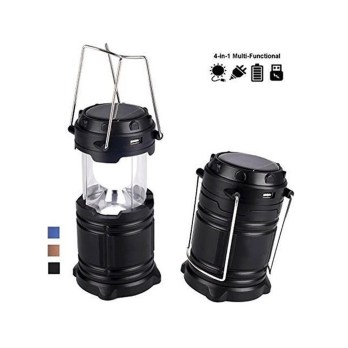 Yofer Rechargeable Solar LED Camping Lantern Emergency Light