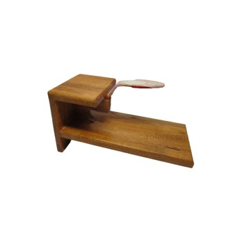 Wooden Coconut Scraper | Chirava,Table Mount