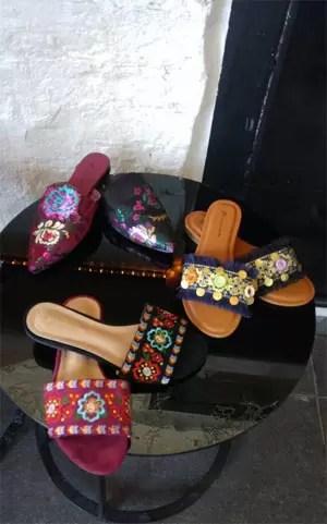 1236 - שיר אלמליח הפרזנטורית של נעלי TO GO,  עיצבה קולקציית קפסולה מיוחדת של נעלי ערב.