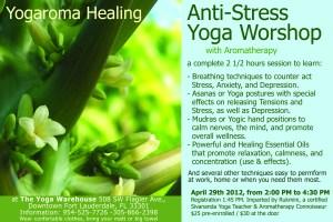Anti-Stress Yoga Worshop