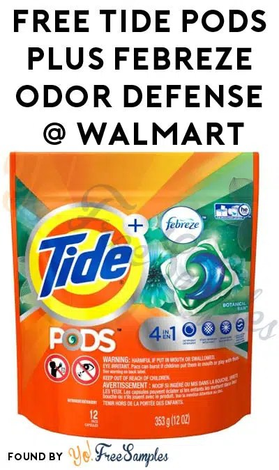 free tide pods plus