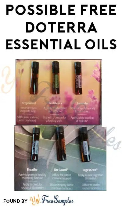 possible free doterra essential