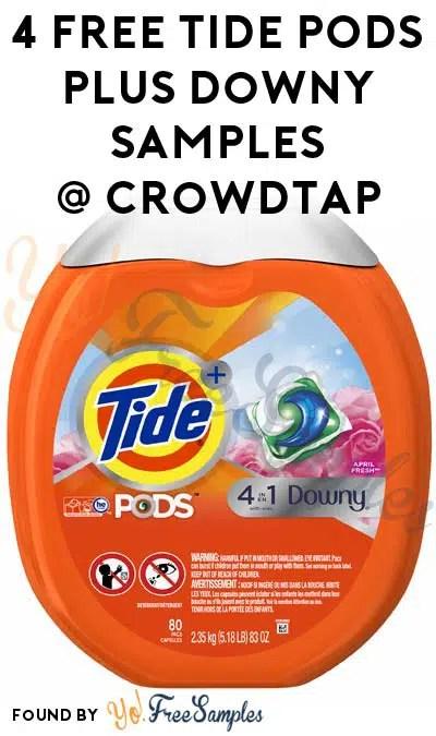 4 free tide pods