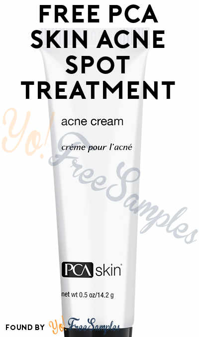 FREE PCA SKIN Acne Spot Treatment (Survey Required