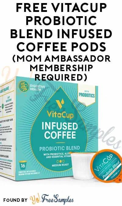 free vitacup probiotic blend