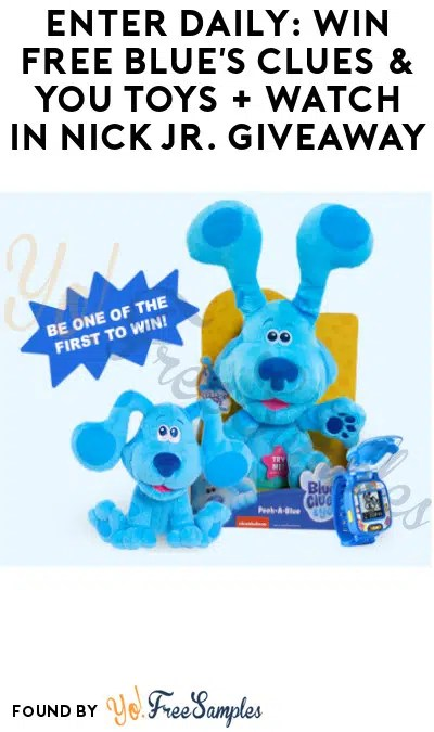 Nick Com Enter To Win : enter, Enter, Daily:, Blue's, Clues, Watch, Giveaway, Samples