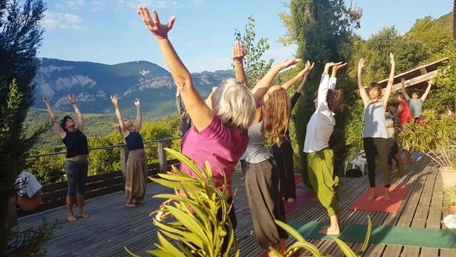 Retraite de Yoga avril 2021 «Hommage à la liberté intérieure»