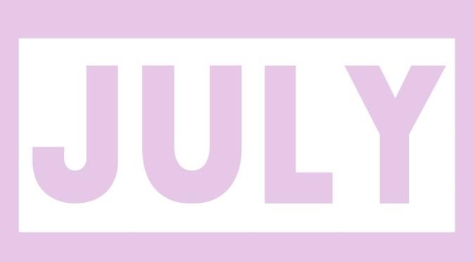 7月スケジュールのお知らせ