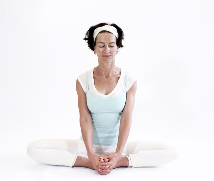 baddha konasana posture yoga vata yoga&vedas
