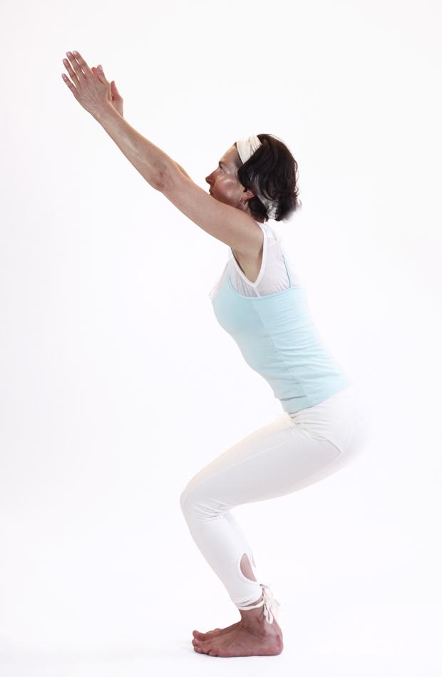 utkatasana posture yoga vata yoga&vedas