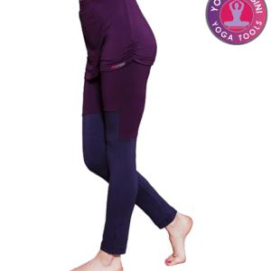 Yoga legging rok paars