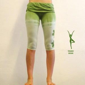 Yoga Legging biologisch katoen Tie & Dye - Yoganic - Eco
