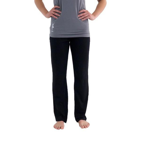 Yogabroek zwart dames - eco bio katoen - legging