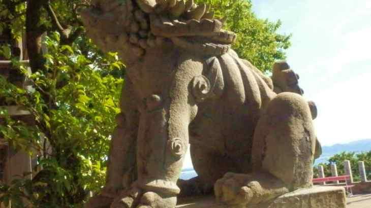 お地蔵さんを抱っこ出来る鷲尾愛宕神社へ参拝💖愛宕神社・拝殿・本殿篇💚