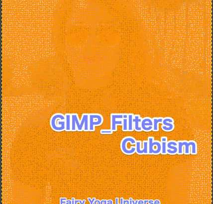 💖GIMP for Mac💘GIMP_フィルター効果(Filters)💚芸術的効果(Artistic)_キュービズム【Cubism】続**5篇Background color【背景色】②💙