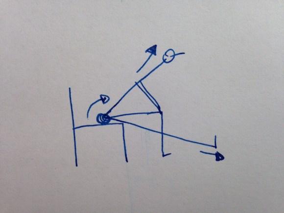 Vorbeuge mit ausgestrecktem Bein im Sitzen, um den Rücken zu dehnen