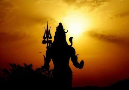 Shiva contraluz