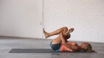 Hips And Hamstrings—Dead Pigeon pose.