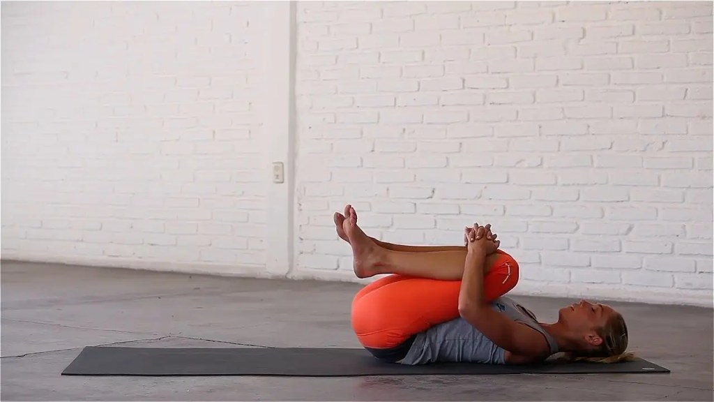 Knees-To-Chest—Yoga 15
