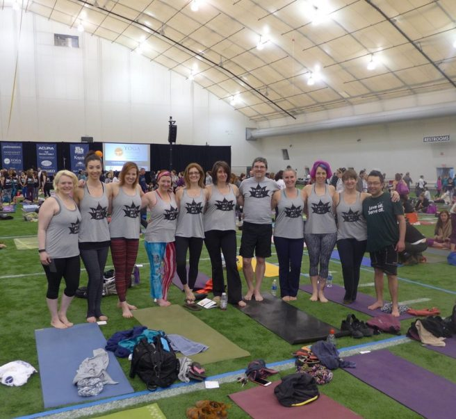 2015 RCY Yogathon Team!