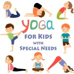 Yoga for Kids with special needs graphic