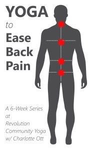 Yoga To Ease Back Pain  Week Series
