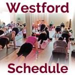 Westford-Schedule