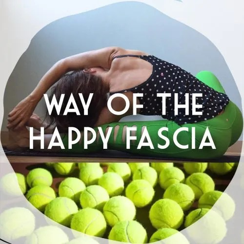tennis ball self myofascial release yoga