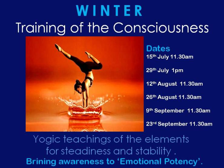 Winter Training of the Consciousness 2018