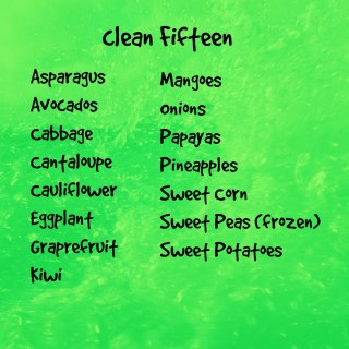 Clean Fifteen