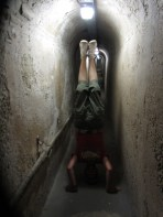 Olivers Hill Tunnels Headstand, Rottnest Island, WA, Australia
