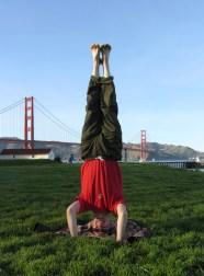 Golden Gate Headstand, San Franscisco, USA